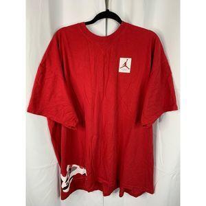 Jordan vintage red t shirt XXL
